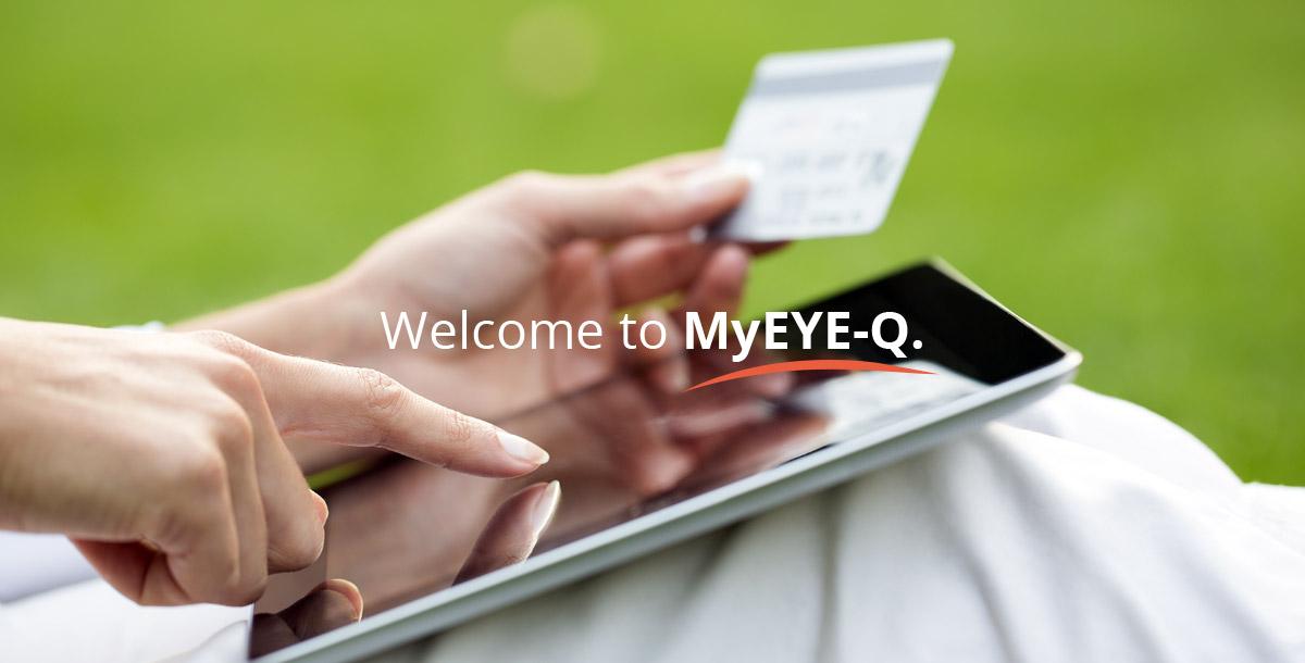 Welcome to MyEYE-Q.